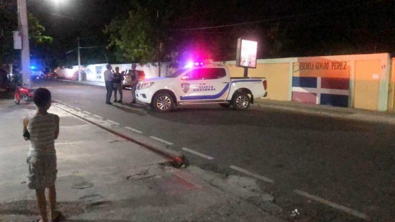 Acribillan a tiros hombre en Santiago