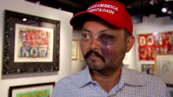 Dominicanos Alto Manhattan condenan golpiza a seguidor Trump