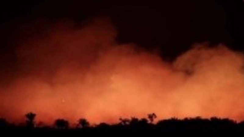 ¡El Amazonas arde!