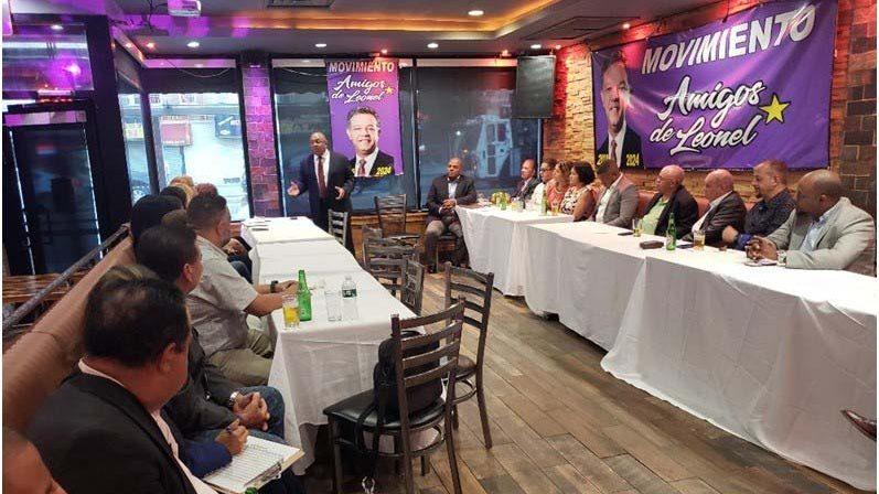 Amigos de Leonel en NY determinan redoblar trabajo político