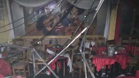Creen fue intencional incendio bar de México
