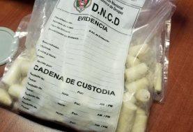 Mujer viajaría a Italia con 71 bolsitas de cocaína