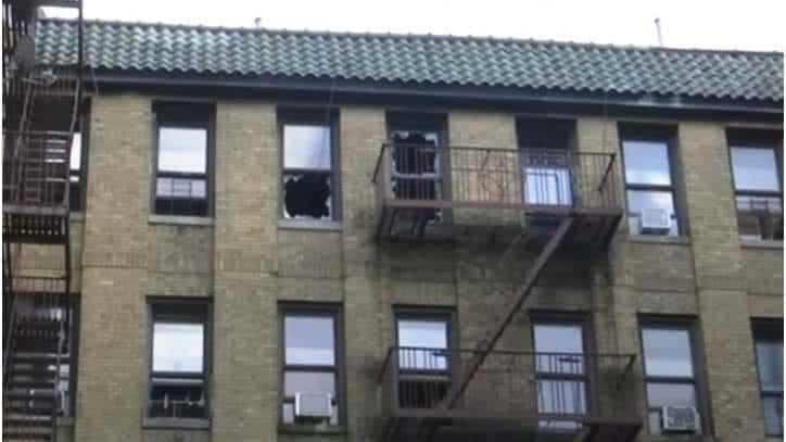 Fuego Alto Manhattan desplaza 19 familias dominicanas