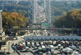 Alarma de posible bomba causa cierre puente George Washington