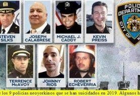 Por suicidios declaran en NYPD una emergencia de salud mental