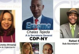 Presentan plancha filial CDP-NY