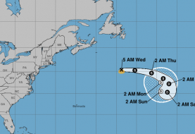 Se forma la tormenta tropical Chantal