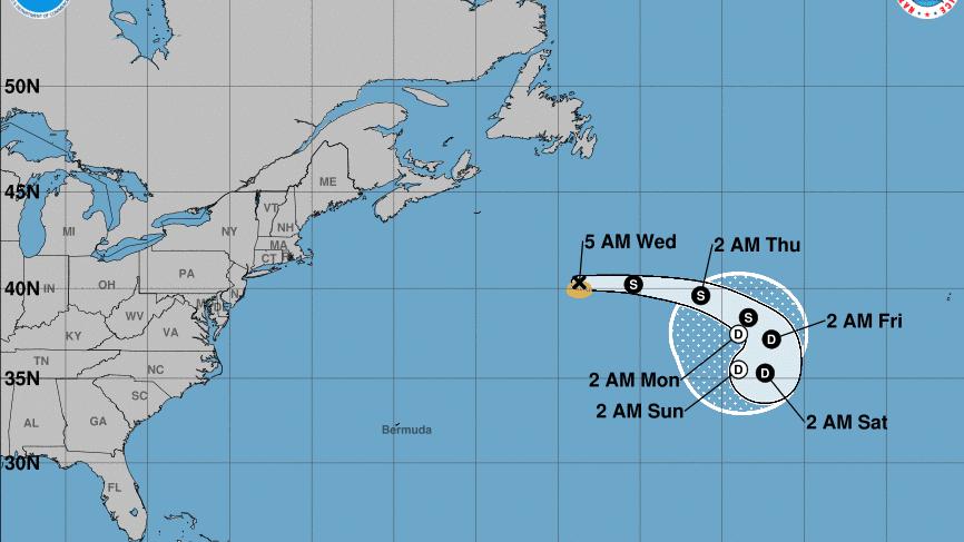 Se forma la tormenta tropical Chantal