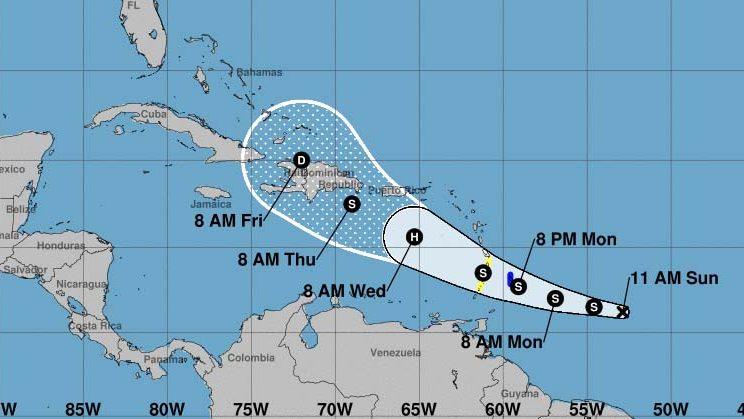 Onamet monitorea tormenta tropical Dorian