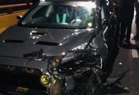 Un muerto y un herido accidente elevado de Santiago