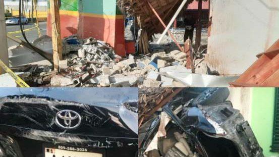 5 muertos accidente de tránsito en La Vega