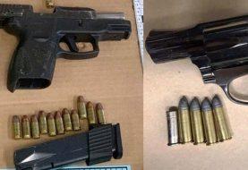 Policía Alto Manhattan incauta armas de fuego