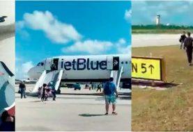 Avión JetBlue realiza aterrizaje de emergencia en Bahamas