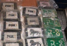 DNCD decomisa 22 kilos de cocaína en el AILA