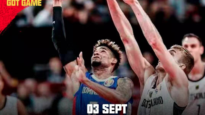 RD avanza segunda fase Mundial de Baloncesto
