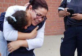 Madre agradece a Dios que hija escapó de la muerte