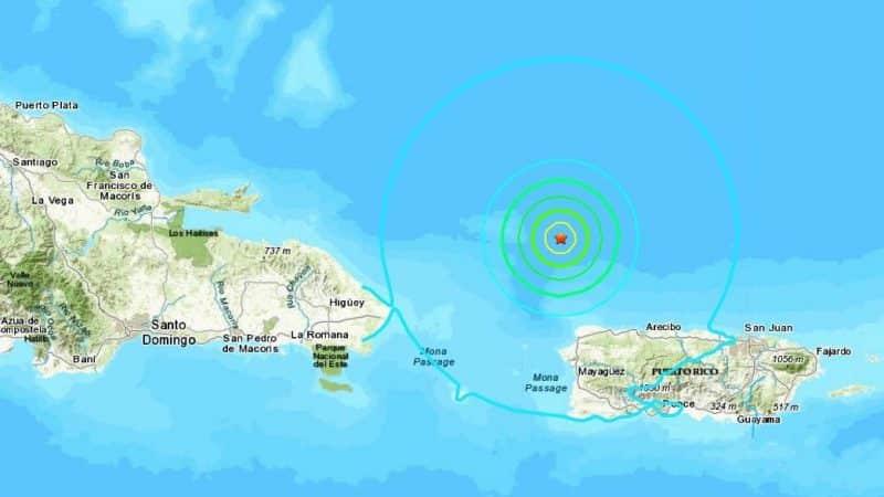 Sismo de 6.0 grados sacude a Puerto Rico y RD