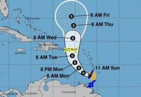 Karen trae ráfagas y lluvia fuerte a sectores de islas Barlovento sur
