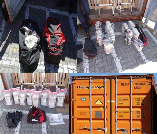 48 paquetes de coca incautados en Puerto Multimodal Caucedo