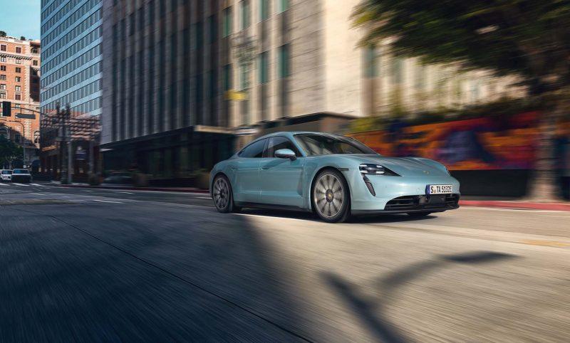 Porsche agrega el Taycan 4S a la familia eléctrica