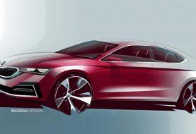 Primer vistazo a Škoda Octavia de próxima generación