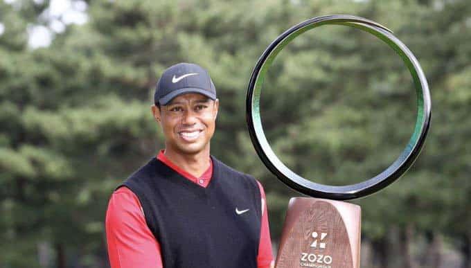 Tiger Woods hace historia en el Golf