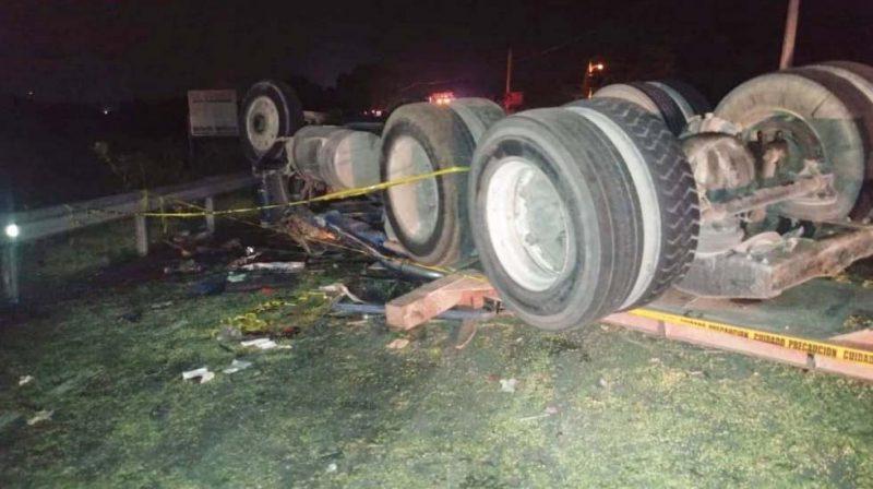 Identifican muertos accidente carretera  Baní-Azua