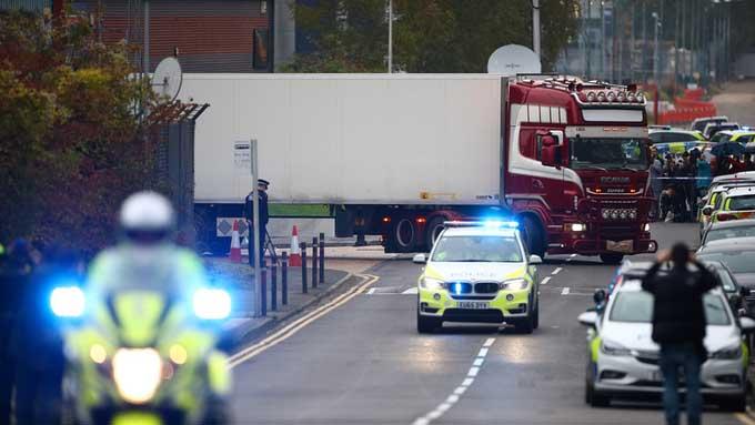 Eran chinos los 39 muertos hallados cerca de Londres