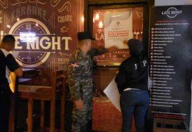 Interior y Policía cierra temporalmente negocios