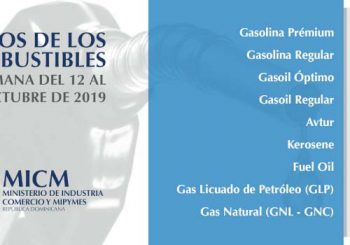 Algunos combustibles bajan; GLP y Fuel Oil suben
