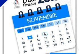 """Feriado """"Día de la Constitución"""" se cambia para el lunes"""