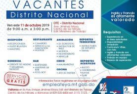 Ministerio de Trabajo invita Jornada de Empleo en Distrito Nacional