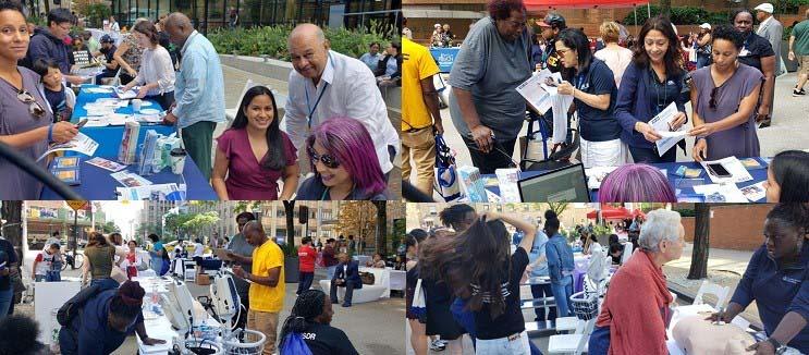 Cientos asisten a Feria de Salud en Alto Manhattan y reciben capacitación