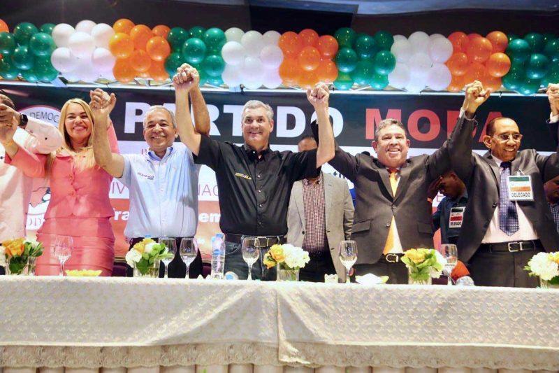 ¿Cuántos partidos políticos apoyan a Gonzalo Castillo?