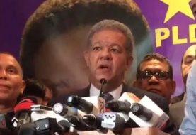 Leonel alega fraude electrónico primarias PLD