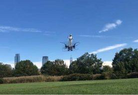 Inventan en EE.UU máquina voladora personal