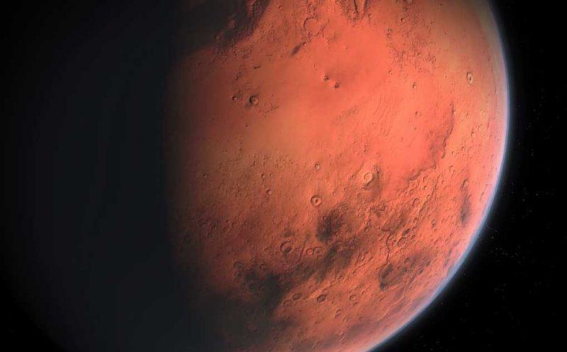 NASA niega encontrara vida en Marte