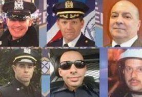Diez policías NY han muerto por balas el presente año