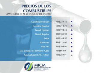 Suben precios gasolina, gasoil y GLP