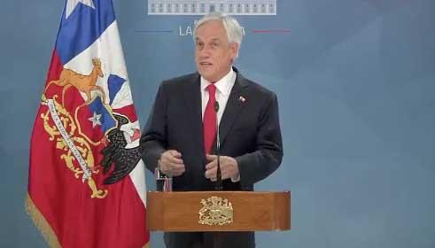 """Piñera pide """"perdón"""""""