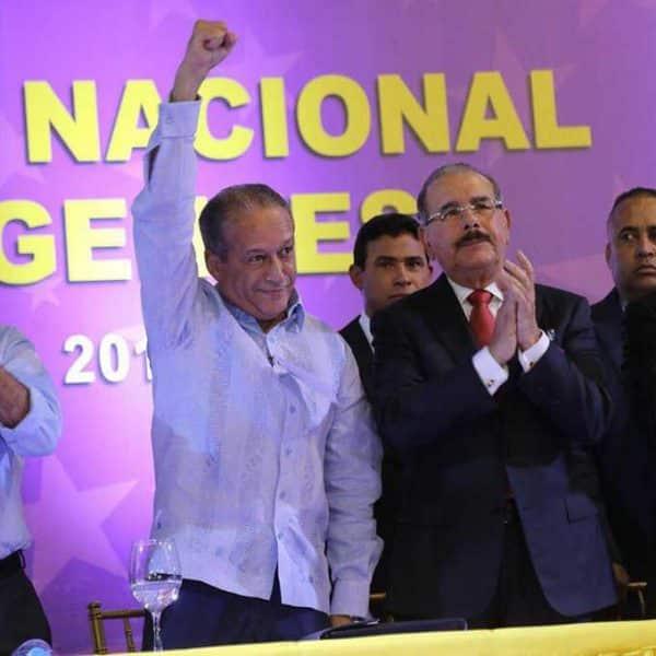 Reinaldo Pared Pérez asume como presidente del PLD