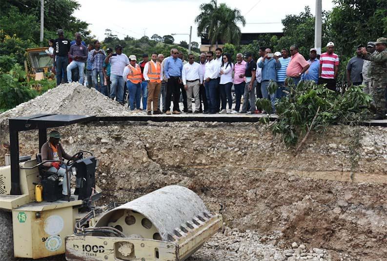 Restablecerán paso puente   comunica a Vallejuelo con El Cercado
