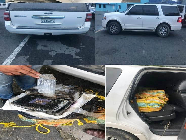 En Bonao ocupan 390 paquetes de cocaína