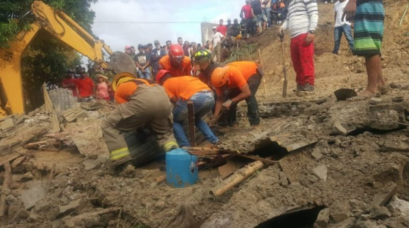Hombre muere aplastado por pared en La Mina de Las Tres Cruces