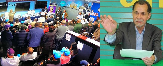 Denuncian PLD se reúne en local opera JCE en El Bronx