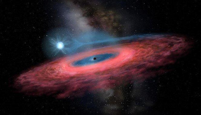 Monstruoso agujero negro asombra a los astrónomos