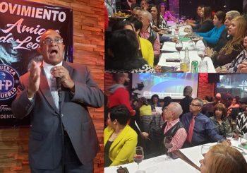 Reafirma trabaja políticamente el doble para garantizar triunfo Leonel