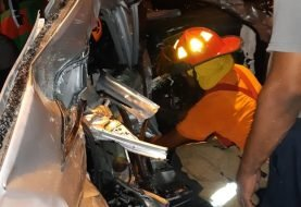 Al menos cuatro muertos accidente El Pino, La Vega