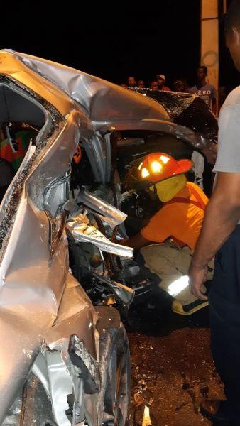 Al menos cuatro muertos accidente El Pino, La Vega - noticia.do