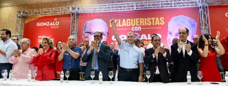 Balagueristas proclaman a Gonzalo Castillo como candidato